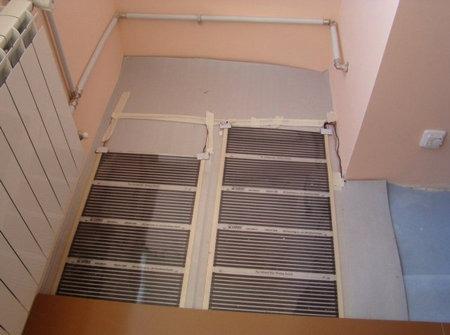 утеплить пол на балконе8