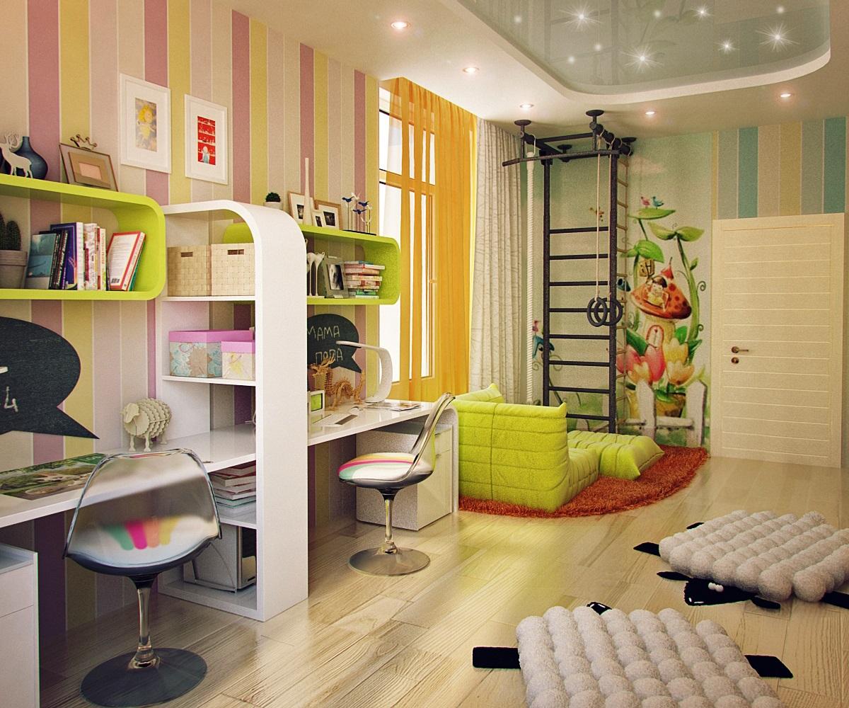 мебель в детскую комнату для школьника18
