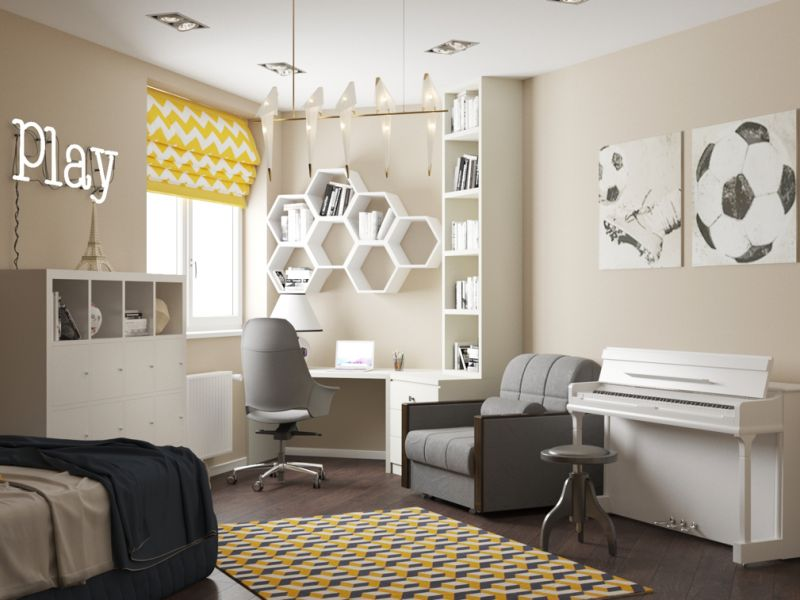 мебель в детскую комнату для школьника20