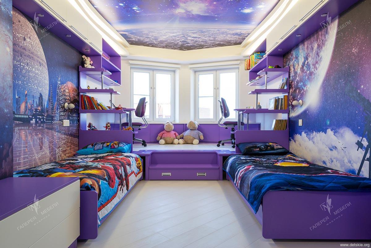 мебель в детскую комнату для школьника10