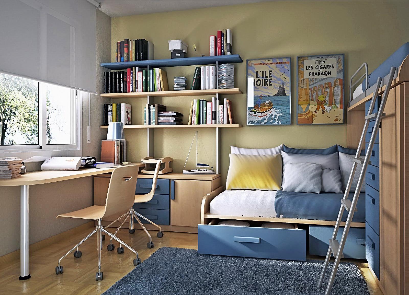 мебель в детскую комнату для школьника19