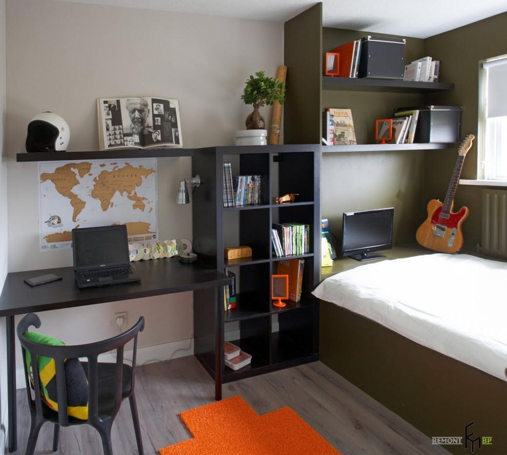 мебель в детскую комнату для школьника13