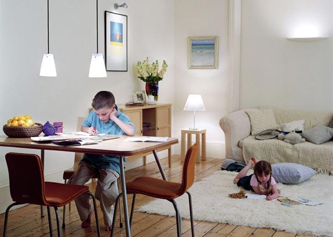 освещение детской комнаты1