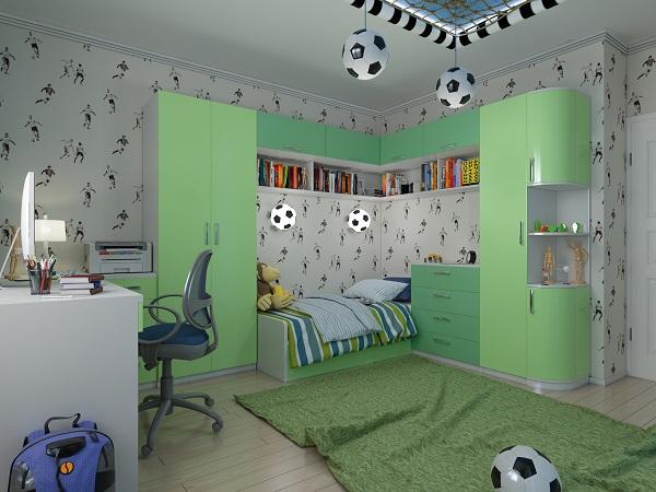 освещение детской комнаты11
