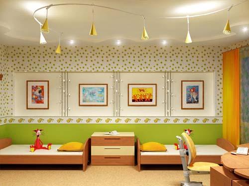 освещение детской комнаты3