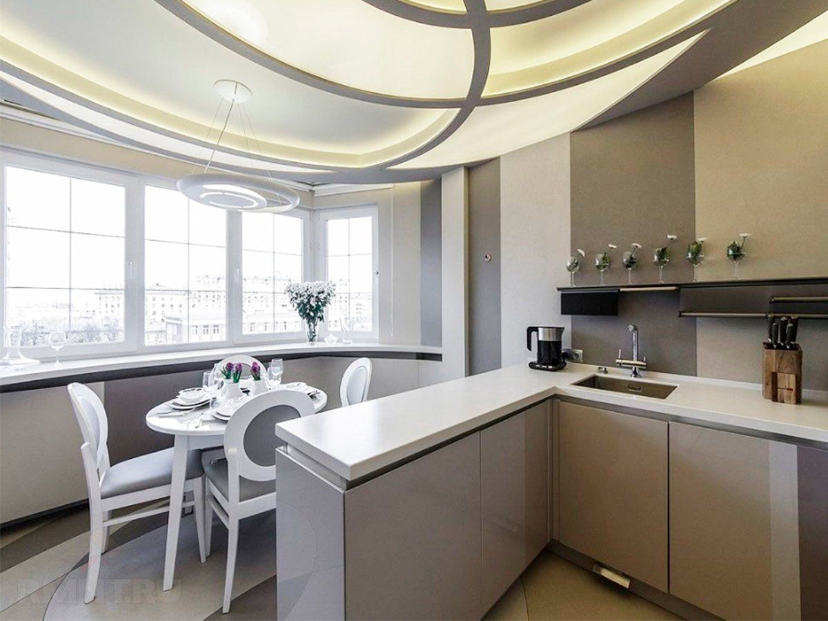 кухня на балконе10