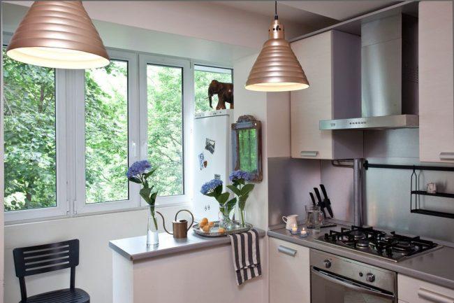 кухня на балконе3