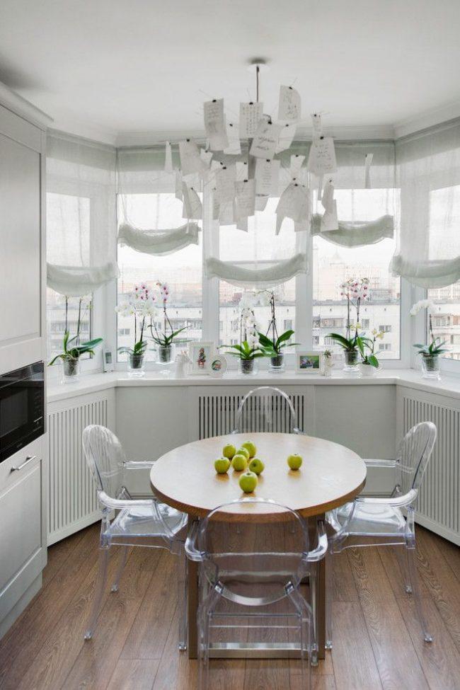 кухня на балконе12