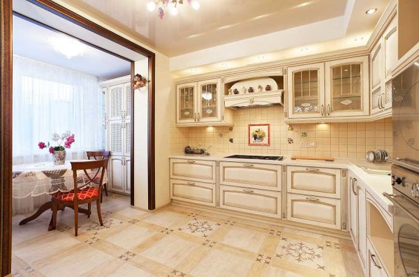 кухня на балконе13