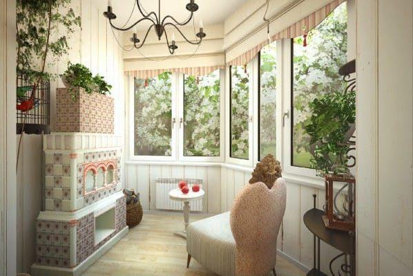 кухня на балконе15