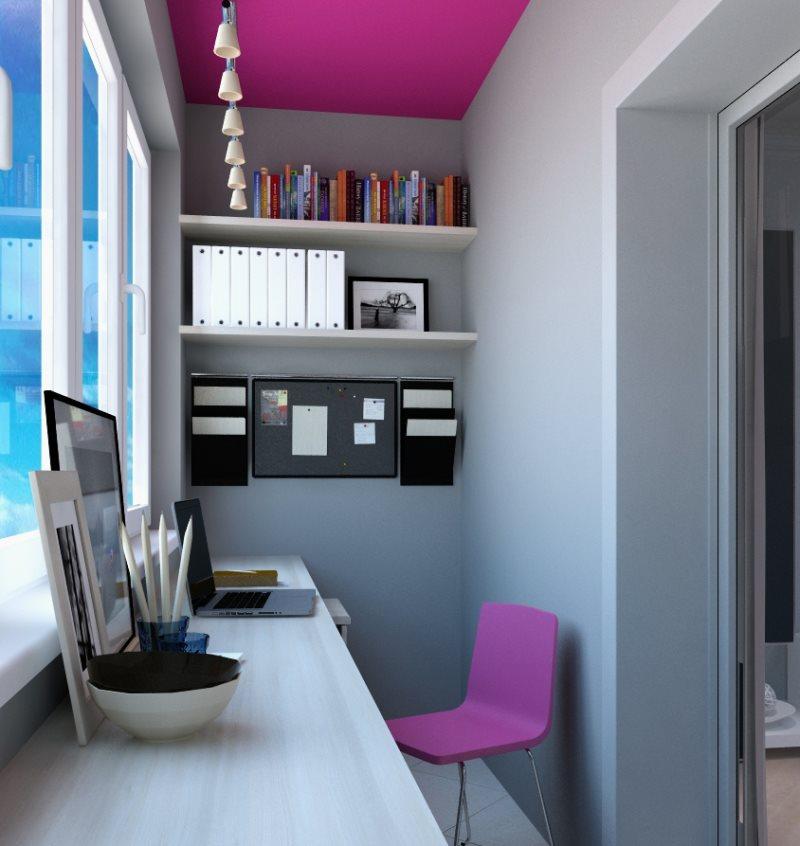 дизайн маленького балкона11