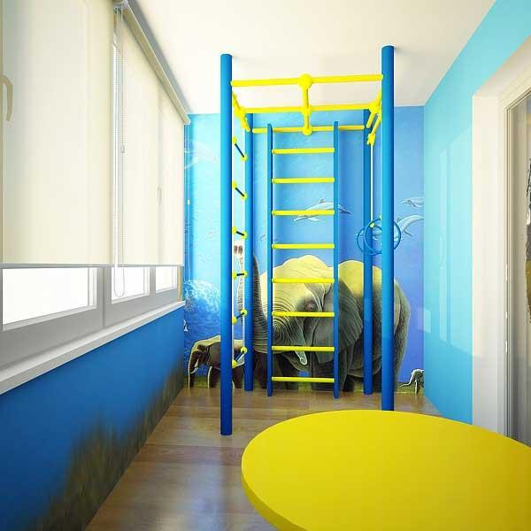 Дизайн маленького балкона, лоджии.