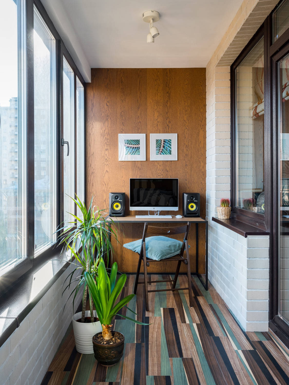 дизайн маленького балкона19