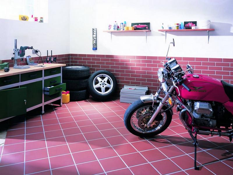 пол в гараже3