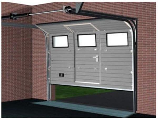 автоматические гаражные ворота1