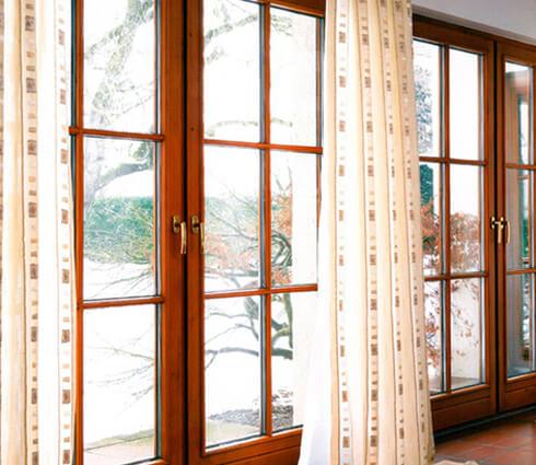 какие окна в частном доме6