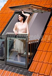 какие окна в частном доме5