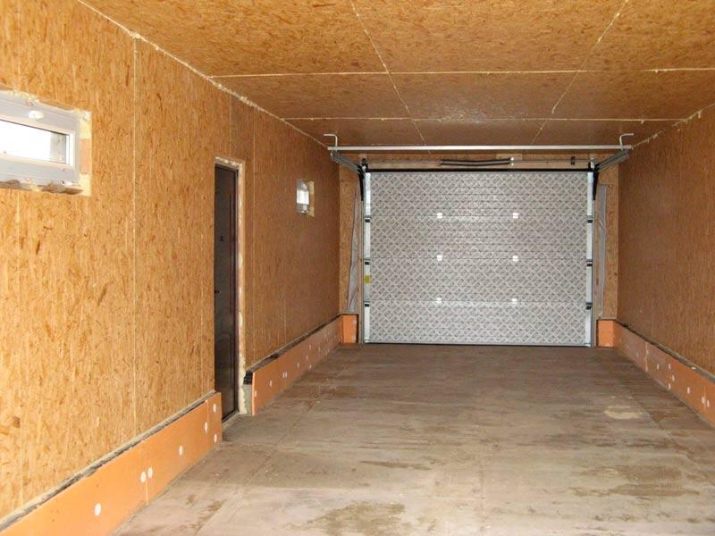 отделка гаража8