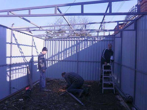 построить гараж11