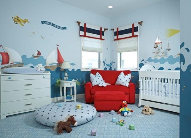 оформление детской комнаты4