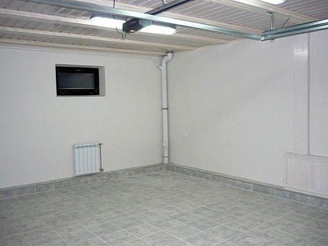 отделка гаража1