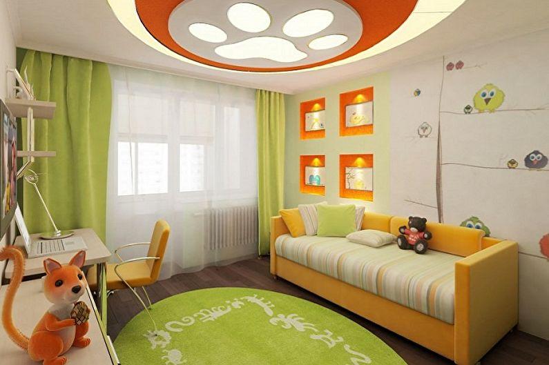 оформление детской комнаты8