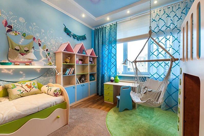 оформление детской комнаты7