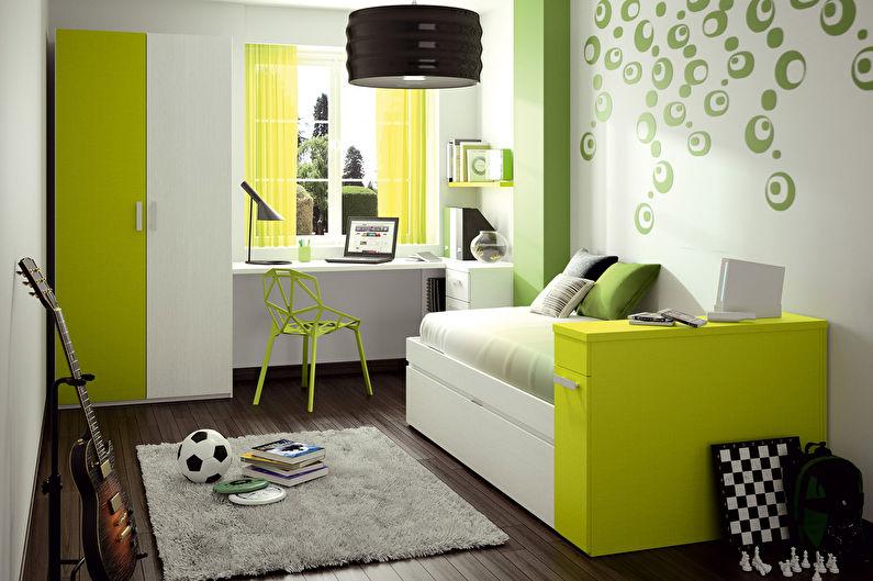 оформление детской комнаты11