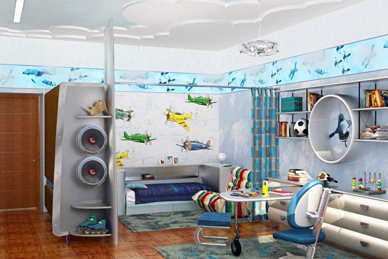 оформление детской комнаты10