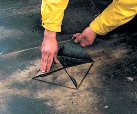 ремонт крыши гаража5
