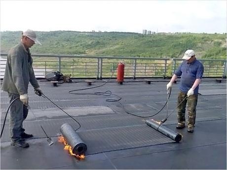 ремонт крыши гаража3