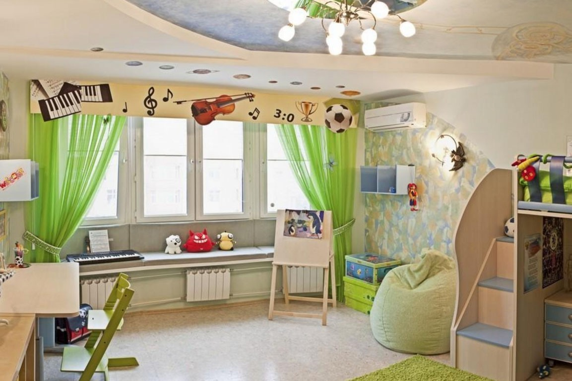 как выбрать шторы в детскую36