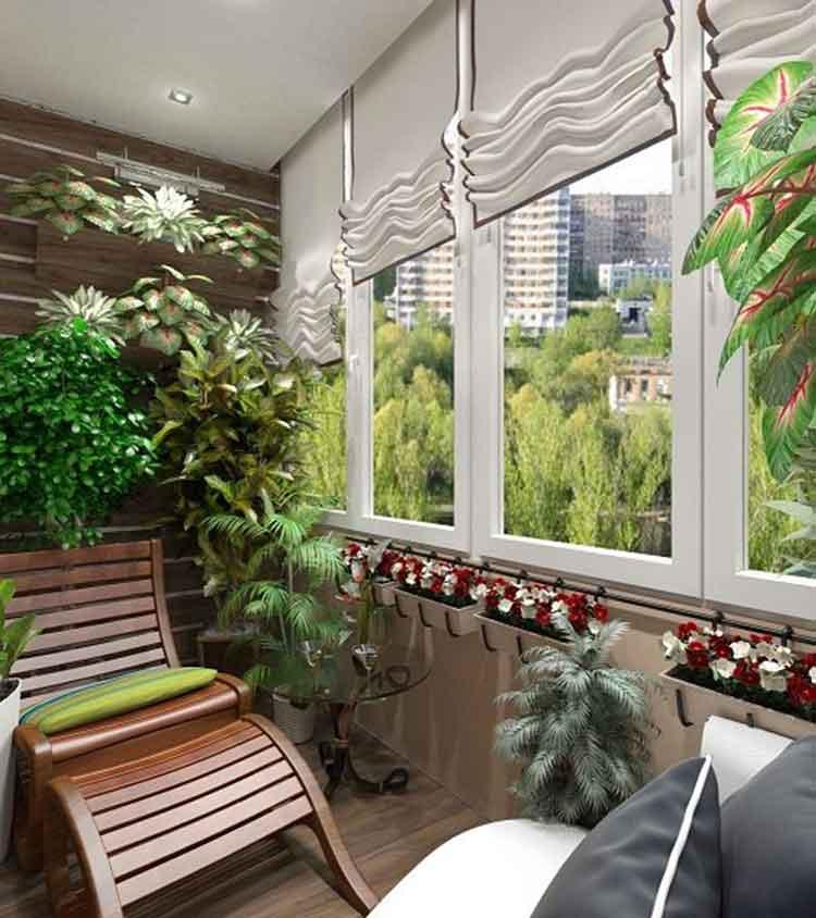 зимний сад в квартире2