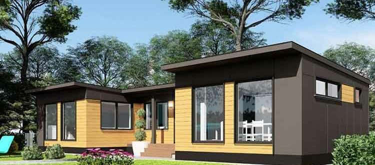 модульный дом