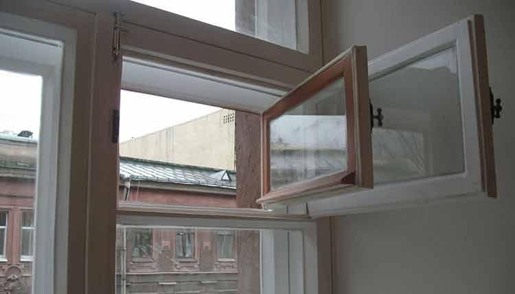 пластиковые окна потеют10