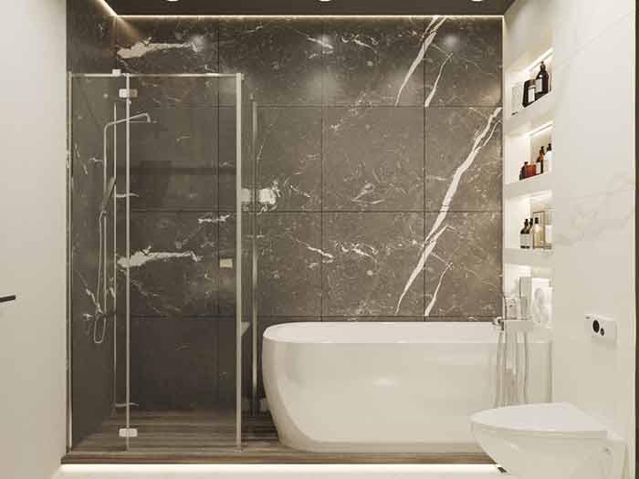 современные ванные комнаты9