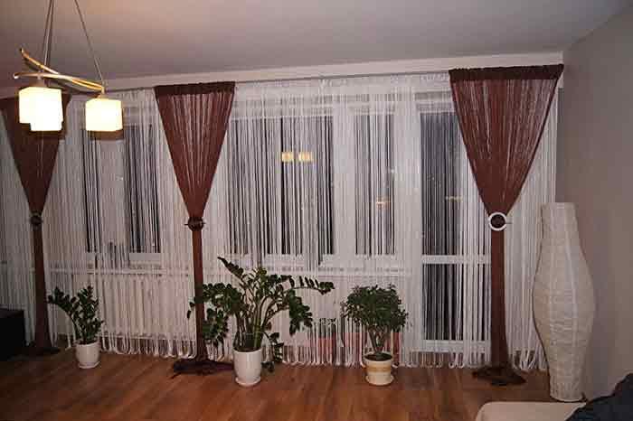 Нитяные шторы5