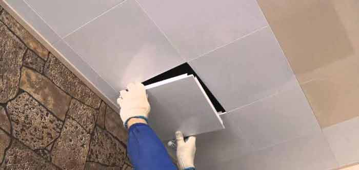 алюминиевые подвесные потолки5