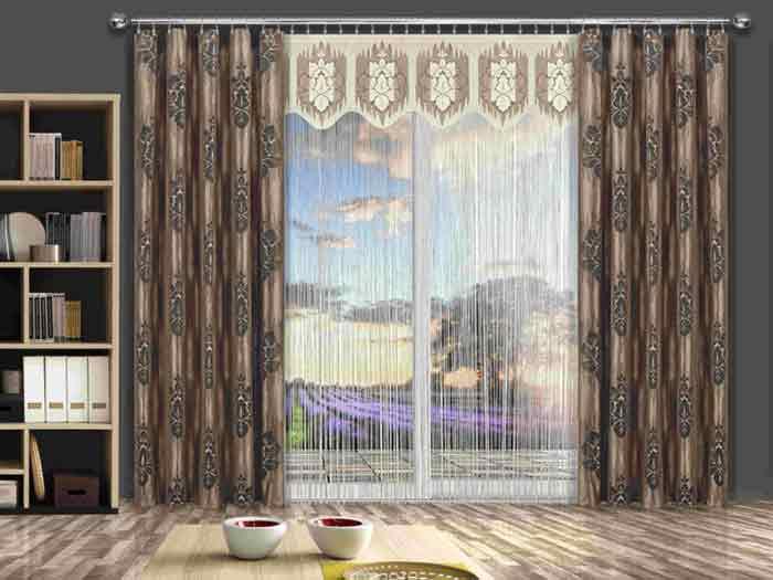 Нитяные шторы14