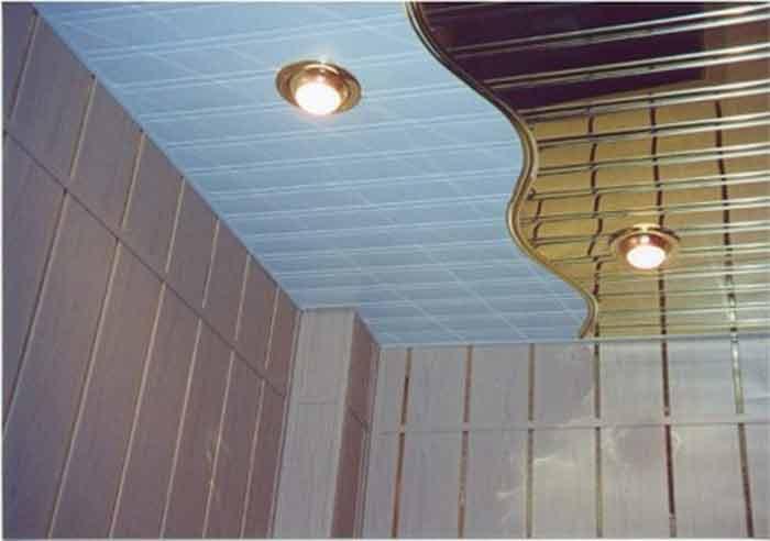 алюминиевые подвесные потолки7