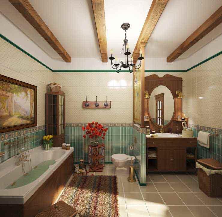 большая ванная комната29